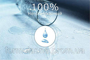 Наматрасник влагостойкий 160x200 BYVS Aquastop 160х200 на 4 резинках, фото 2