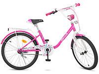 """Велосипед детский Profi Y2082 Flower 20""""."""