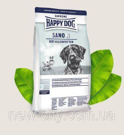 Happy Dog Supreme Sano N  1кг - диетический корм для собак, страдающих заболеваниями почек, печени и сердца.