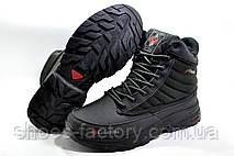 Зимние сапоги в стиле Коламбия, Black (На меху), фото 3