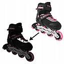 Роликовые коньки SportVida SV-UP0004 Size 38-41 Black/Pink, фото 4