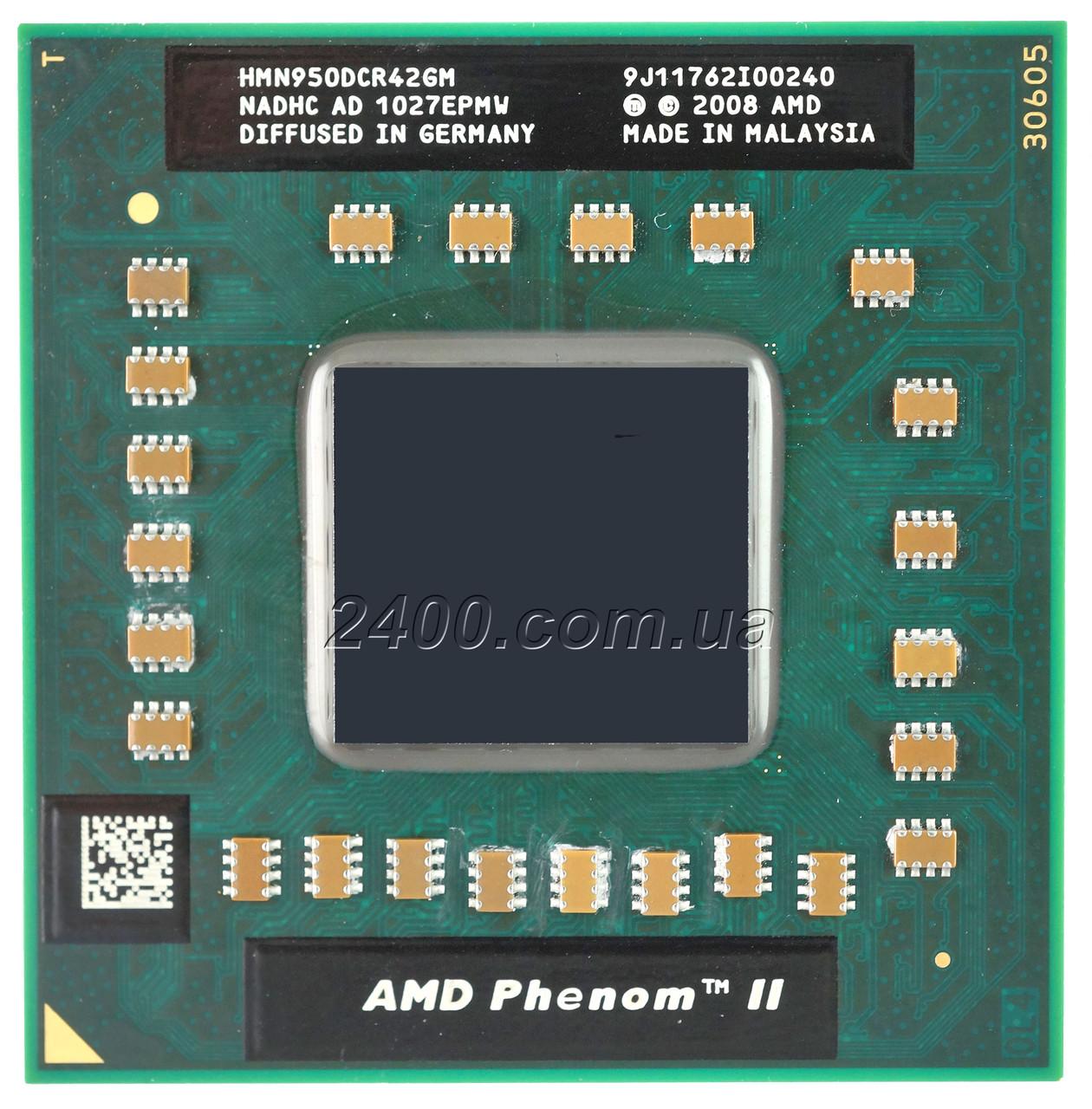 Процессор AMD Phenom II X4 N 950 2.1 GHz Socket S1 (S1g4) для ноутбука HMN950DCR42GM