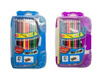 Набор цветных карандашей, 12 цветов О-00175