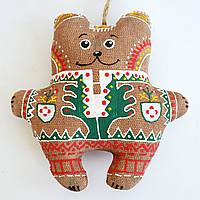 Кофейный мишка гуцульский. Украинский сувенир.