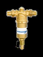 Сетчатый механический фильтр для горячей воды (100 мкм) с ручной промывкой Protector mini HR 1
