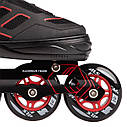 Роликовые коньки Nils Extreme NA14174A Size 35-38 Black/Red, фото 4