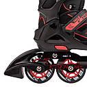 Роликовые коньки Nils Extreme NA14174A Size 35-38 Black/Red, фото 5