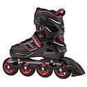 Роликовые коньки Nils Extreme NA14174A Size 35-38 Black/Red, фото 6
