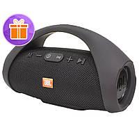 ✓Колонка BL JBL Boombox mini Black Bluetooth AUX 2 USB-порта встроенный микрофон стерео звук