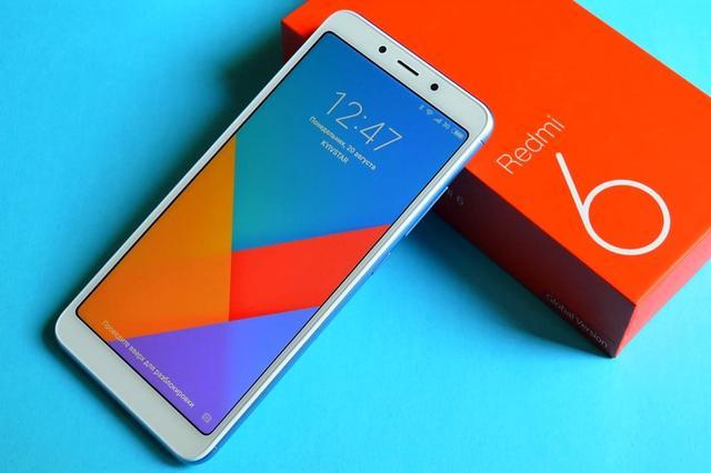 Большой экран Xiaomi Redmi 6