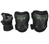 Комплект защитный SportVida SV-KY0004-L Size L Black/Green