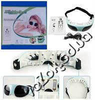 Магнитно-акупунктурный массажер для глаз Eye Massager RMK-018 с адаптером 220 В, фото 1