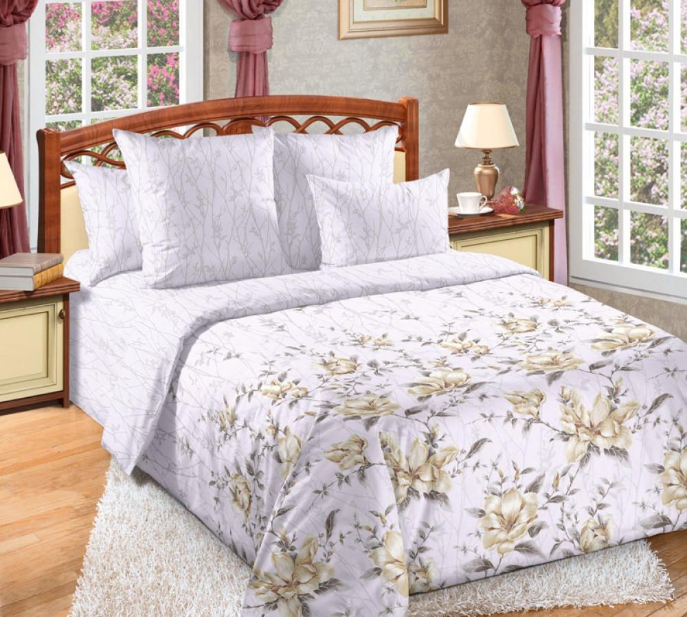 Постельное белье Прикосновение перкаль  ТМ Комфорт-Текстиль (Семейный)