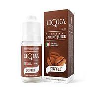 Жидкость для электронных сигарет с никотином Liqua smoke juice Coffee 10 ml, фото 1
