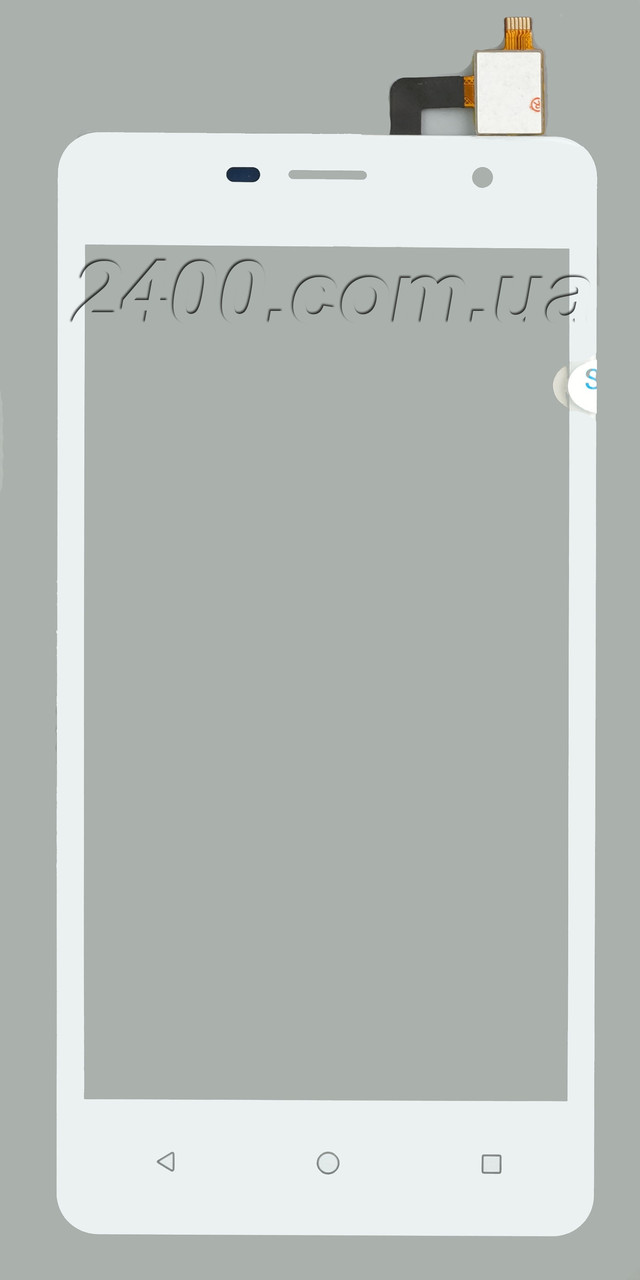 Сенсор Nomi i5010 (тачскрін) - touchscreen для телефонів Nomi i5010 Evo M (Номі i 5010) білий (white)