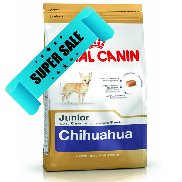 Сухой корм для собак Royal Canin Chihuahua Junior 1,5 кг