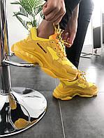 Кроссовки Balenciaga Triple-S Clear Sole Sneaker-Yellow