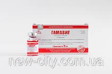 Гамавит (Gamavit Micro-Plus) 6мл раствор Микро-Плюс 5шт упаковка
