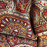 Ларец самоцветный 762-5, павлопосадский платок шерстяной  с шелковой бахромой, фото 2