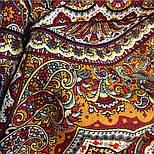 Ларец самоцветный 762-5, павлопосадский платок шерстяной  с шелковой бахромой, фото 3