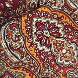 Ларец самоцветный 762-5, павлопосадский платок шерстяной  с шелковой бахромой, фото 6