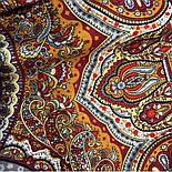 Ларец самоцветный 762-5, павлопосадский платок шерстяной  с шелковой бахромой, фото 7