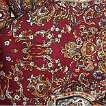 Ларец самоцветный 762-5, павлопосадский платок шерстяной  с шелковой бахромой, фото 8