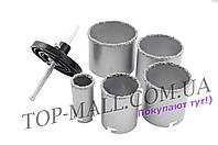 Набор корончатых сверл по плитке Miol - 5 шт. (33, 53, 67, 73, 83 мм)