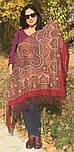 Ларец самоцветный 762-5, павлопосадский платок шерстяной  с шелковой бахромой, фото 9