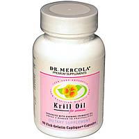 Жир криля для женщин Dr. Mercola 90 капсул