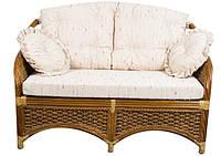 Софа с мягкой подушкой  2-ка из Ротанга