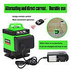 4D Лазерный уровень Puerci 4D 16 линий ➜ ПУЛЬТ ➜ Зеленые лучи ➜ ГАРАНТИЯ: 1 год, фото 5