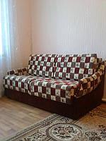 Перетяжка и ремонт дивана Алеко