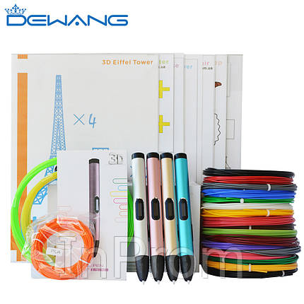 3D Ручка Dewang X4 5.0 VIP, фото 2