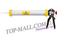 Пистолет для силикона Topex - тубус, 600 мл