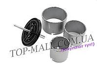 Набор корончатых сверл по плитке Miol - 3 шт. (67, 83, 103 мм)