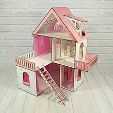 Кукольный домик Солнечная Дача с обоями и шторками  FANA 2101