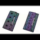 Кошелек геометрический в корейском стиле, бумажник, портмоне с геометрическим рисунком, фото 6