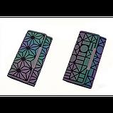 Кошелек геометрический в корейском стиле, бумажник, портмоне с геометрическим рисунком, фото 7