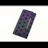 Кошелек геометрический в корейском стиле, бумажник, портмоне с геометрическим рисунком, фото 8