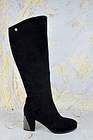 Женские сапоги на каблуке Brocoly