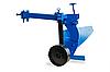 Плуг (активный) стойка цельная вырезанная (к тяжелым мотоблокам с водянкой) с опорным колесом, фото 2