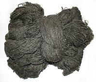 Пряжа для вязания, цвет темно серый ПВ3