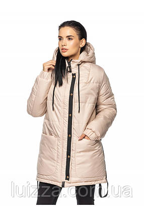 Женская удлиненная куртка 44-56 рр, фото 2