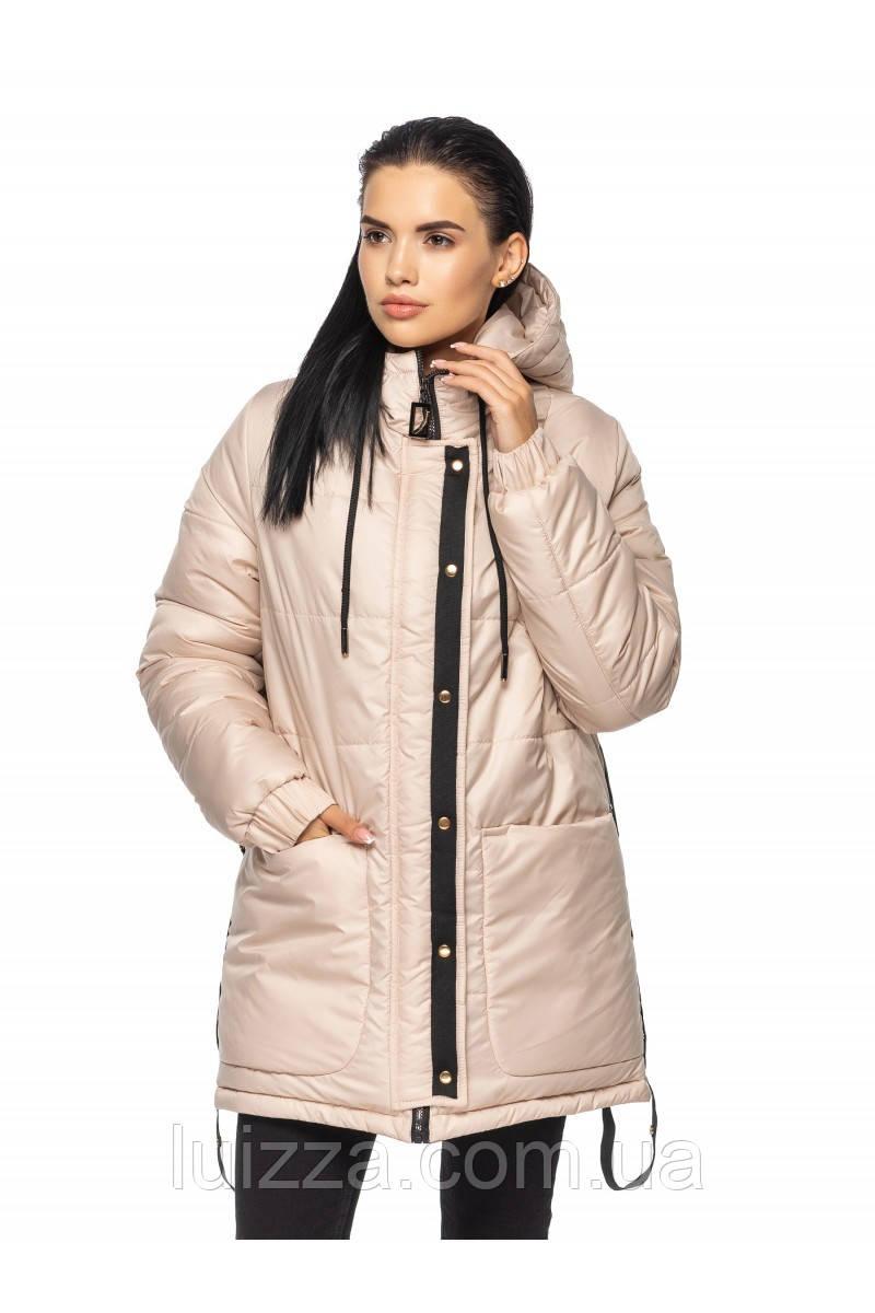 Женская удлиненная куртка 44-56 рр
