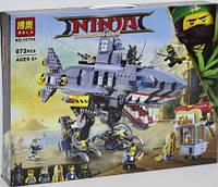 """Конструктор """"NJ"""" 10799 Морской дьявол Гармадона (12) 872 детали в коробке ."""