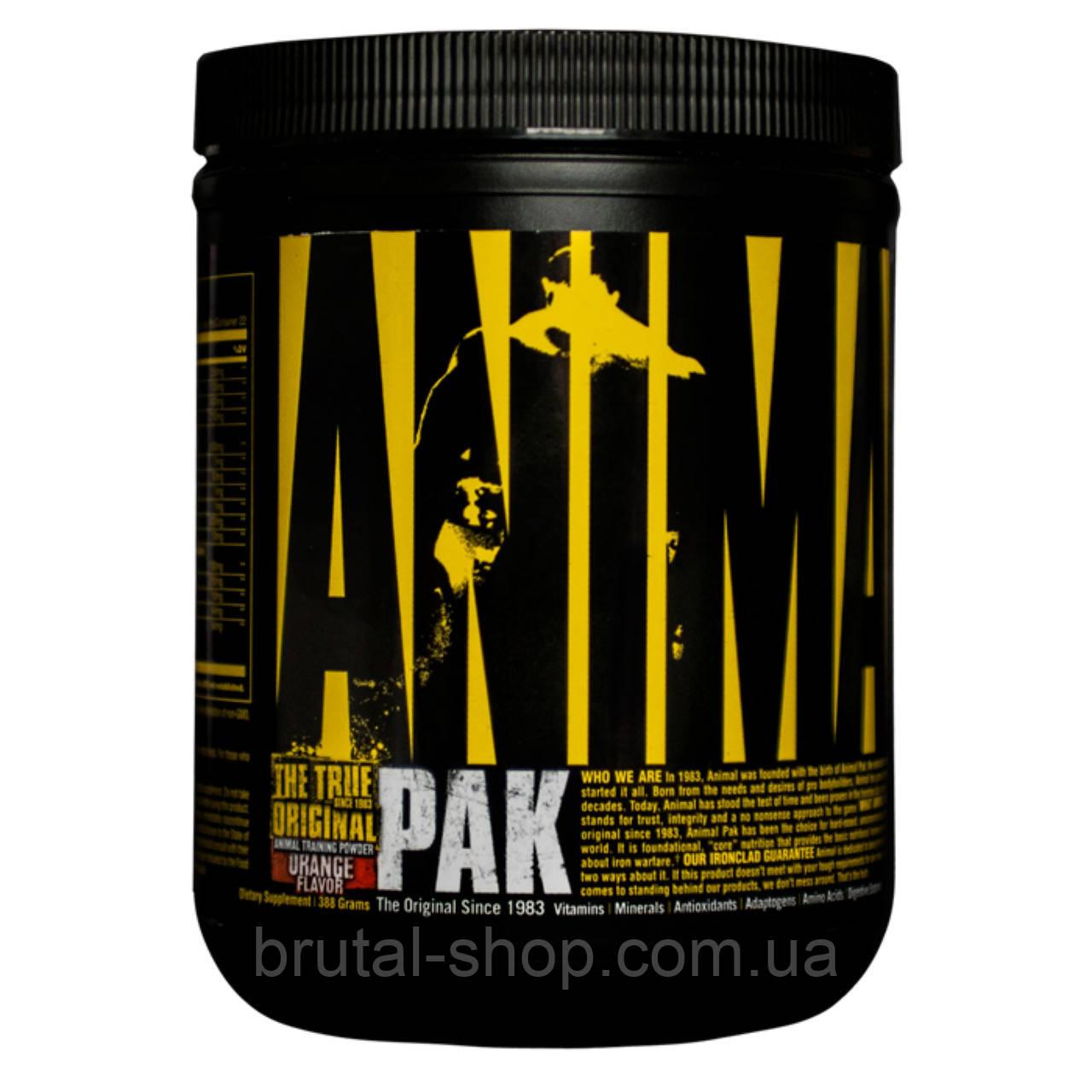 Витаминно минеральный комплекс   Universal Nutrition Animal Pak Powder  (388g)