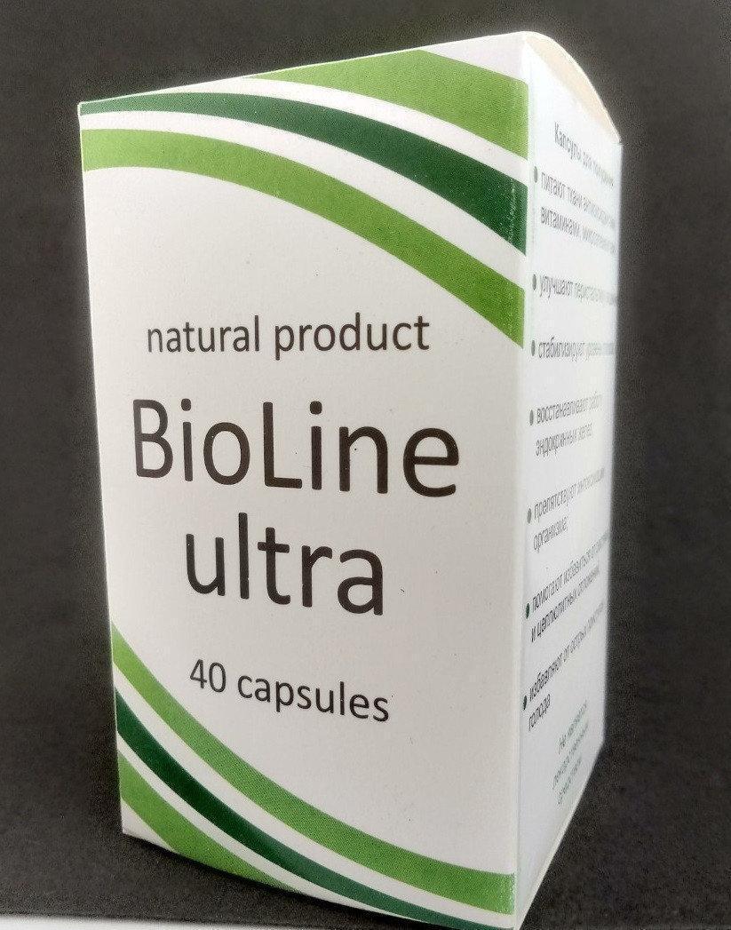 BioLine Ultra - Капсулы для похудения (Биолайн Ультра) ViP