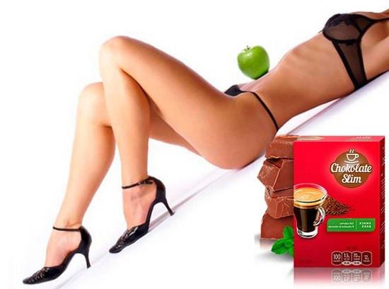 Натуральный комплекс для похудения Choсolate Slim ViP