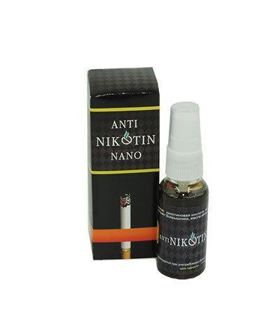 Спрей ANTI NIKOTIN NANO против курения ViP